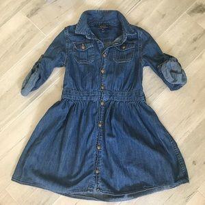 Polo Ralph Lauren Denim Dress Size 6X